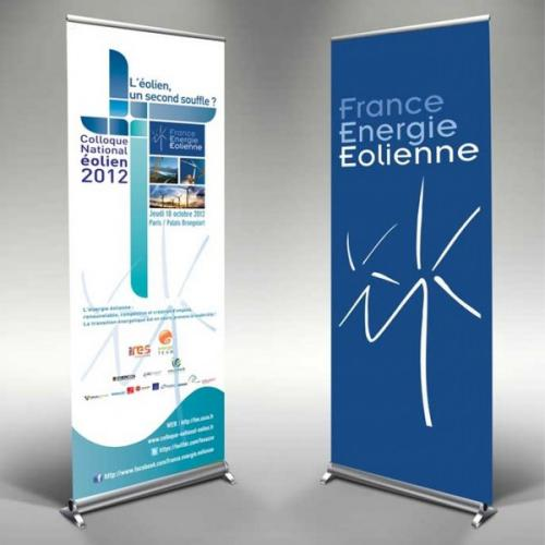 Roll-Up Kakemono - plusieurs tailles disponibles